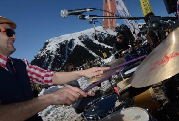 Доломитовые Альпы принимают музыкальный фестиваль Ski Jazz