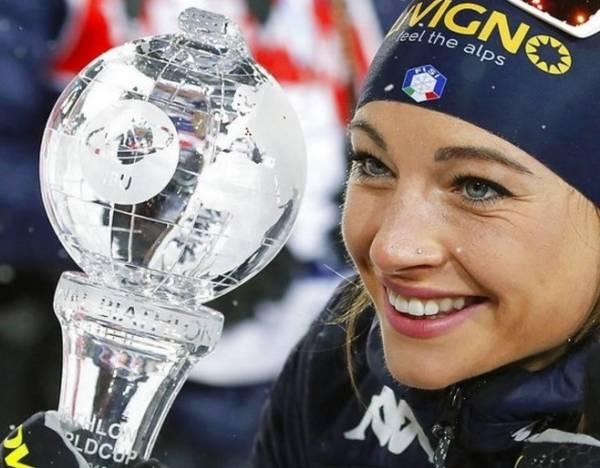 Итальянка Доротея Вирер завершает сезон с «хрусталем»