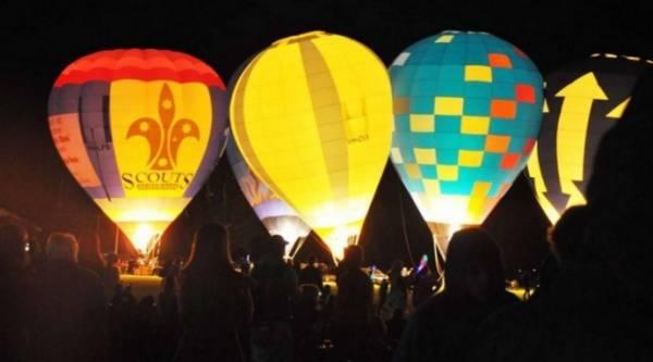 Фестиваль полета в Королевском парке Монца