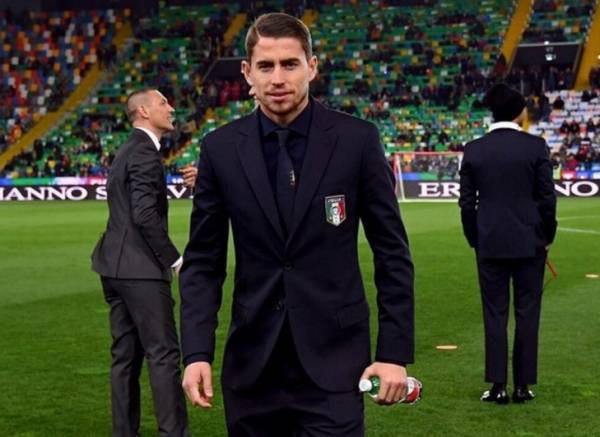 Дебютант сборной Италии натурализованный бразилец Жоржиньо
