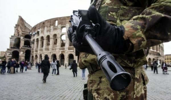 Теракты в Брюсселе стали причиной усиления мер безопасности в Италии