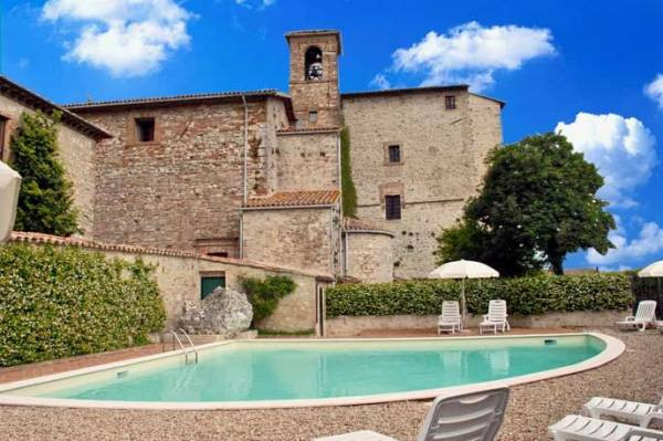 Умбрия: продается замок принцев флорентийского семейства