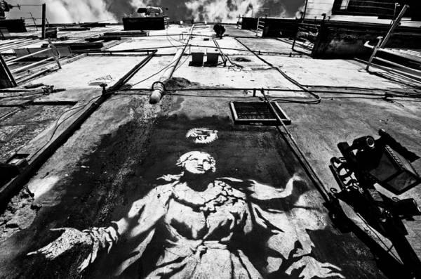 Неаполь стал на защиту уличного граффити Бэнкси