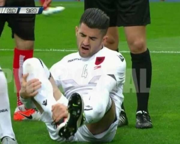 Правый защитник Элсейд Хюсай провел лишь один матч сборной Албании