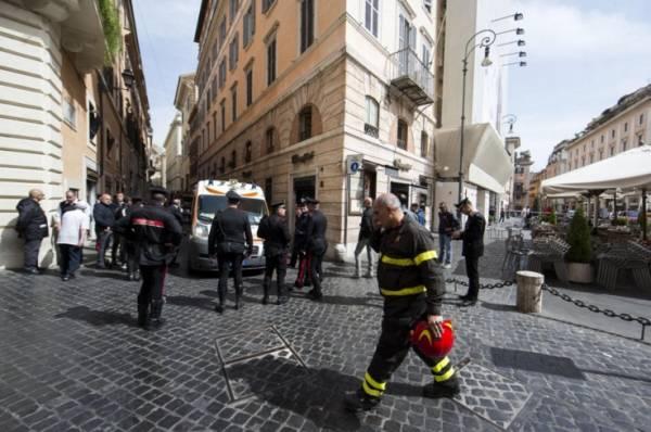 Несчастный случай в Риме