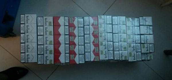Транспортировка 9 тыс. сигарет за границу не удалась
