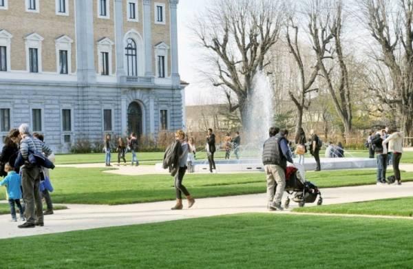 В Турине снова открылись Королевские сады