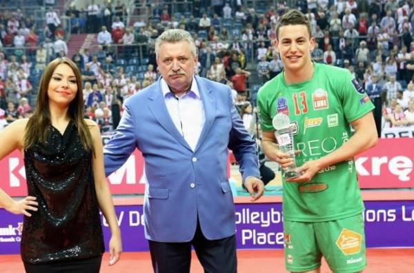 Лучшим игроком «финала четырех» Женя Гребенников