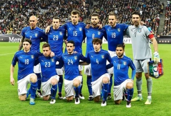 Сборная Италии безропотно уступает чемпионам мира