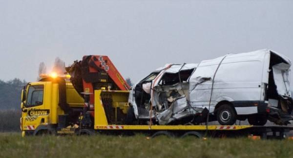 Два итальянца были ранены в результате автокатастрофы во Франции