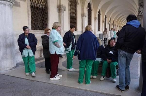 В Венеции была поднята тревога
