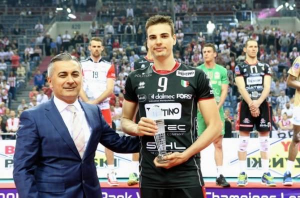 Лучшим игроком «финала четырех» Симоне Джаннелли