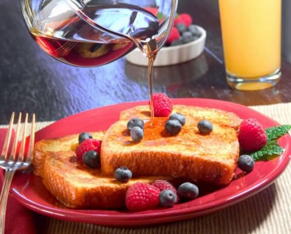 Завтрак во Франции очень скромный