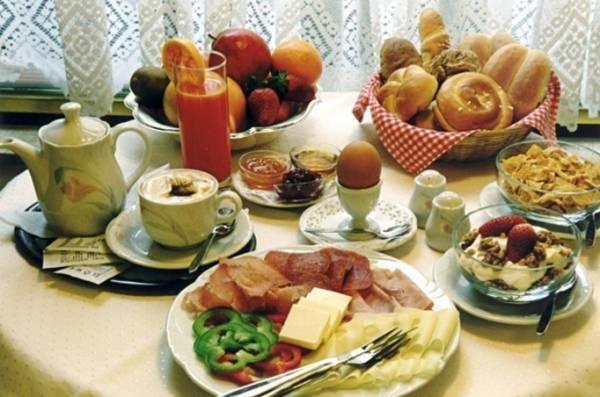 Это типичный завтрак немца