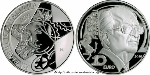Евромонеты достоинством 10, 20 и 50 евро сошли с конвейера в Италии