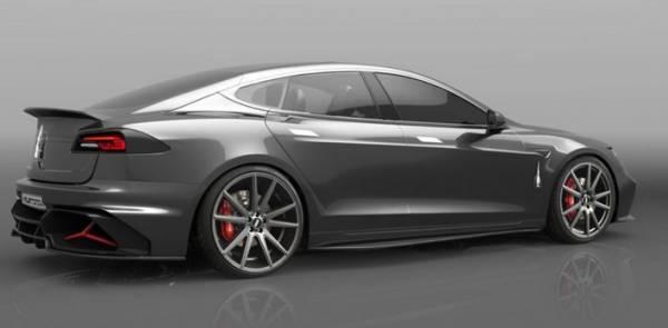 Tesla Model S превратился в Valentino