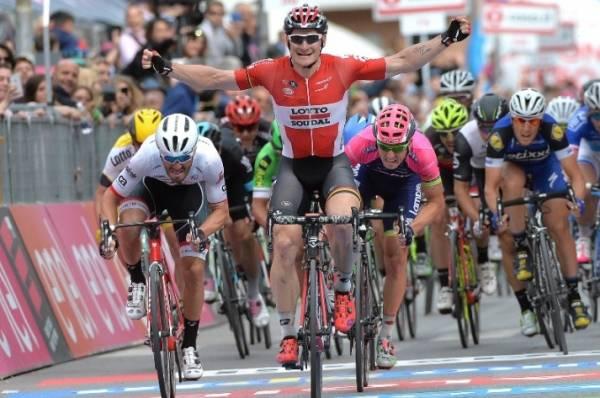 Андре Грайпель, 33-летний немецкий гонщик команды Lotto Soudal