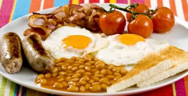 Полноценный английский завтрак