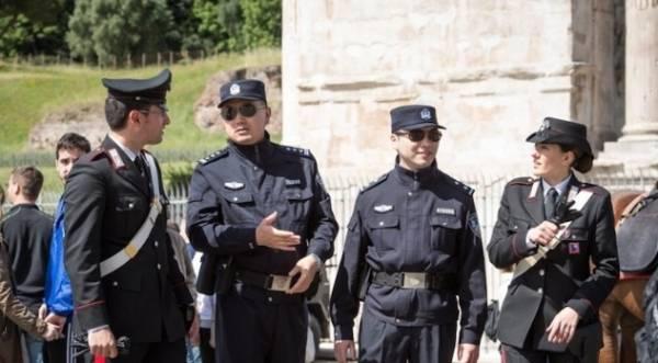 улицы Рима и Милана будут патрулировать китайцы