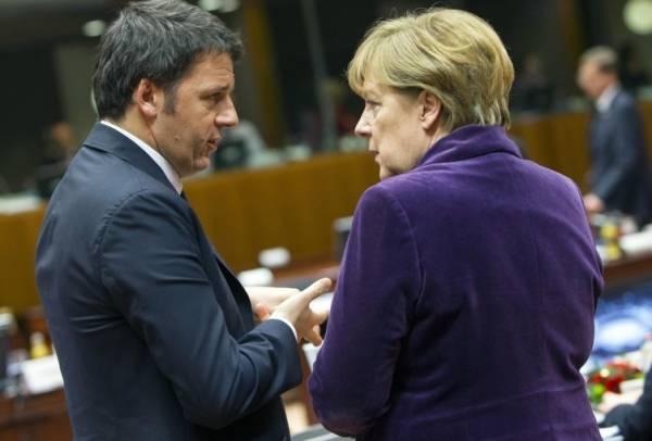 Германия не поддержала план Италии относительно мигрантов