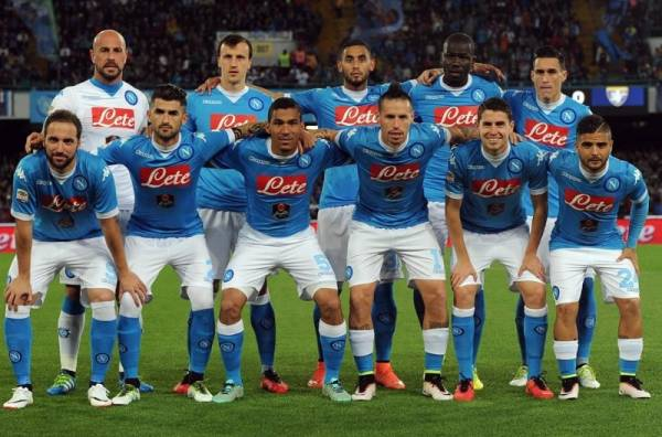 Неаполитанцы, тем не менее, забили свой первый гол