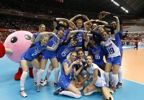 Женская сборная Италии по волейболу – участник Олимпийских Игр – 2016
