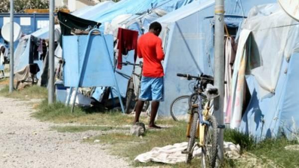 В Калабрии мигранты устроили протест