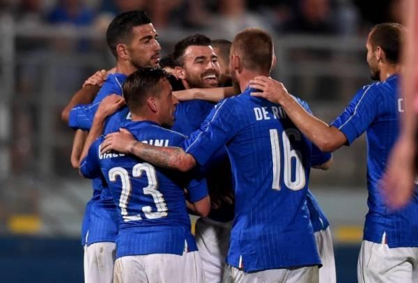 Гол итальянцы забили на 12-й минуте второго тайма