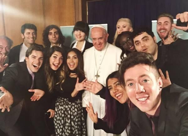 Встреча Папы Римского ради добра и красоты
