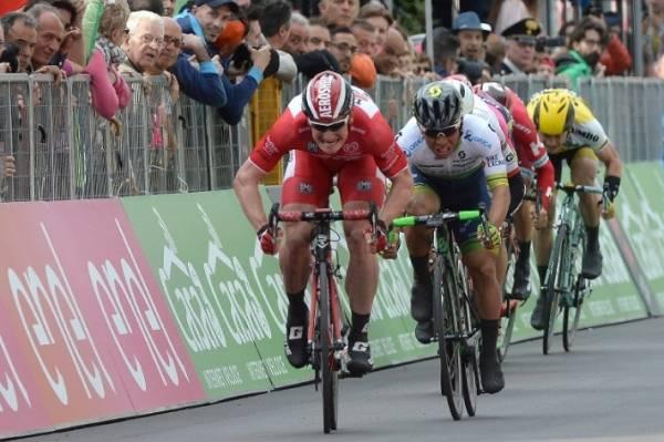 Андре Грайпель одержал победу на 12-м этапе Джиро д'Италия