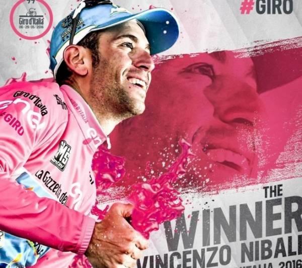 Для победы на Джиро – 2016 Винченцо Нибали оставалось доехать до финиш