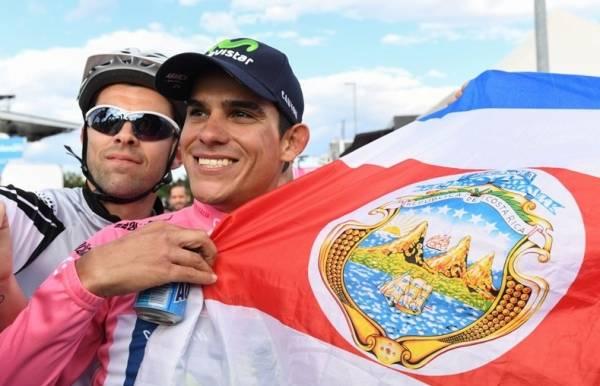 у Джиро появился новый лидер - 29-летний гонщик команды Movistar Андре