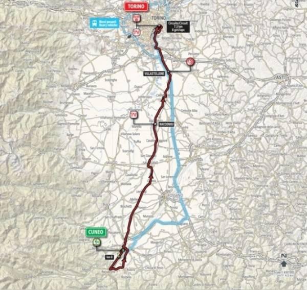 20-й этап Джиро - 2016 - горный этап, который прошел по территории Фра