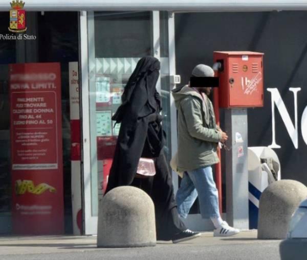 В Италии задержана женщина, которая «мечтает стать террористкой»