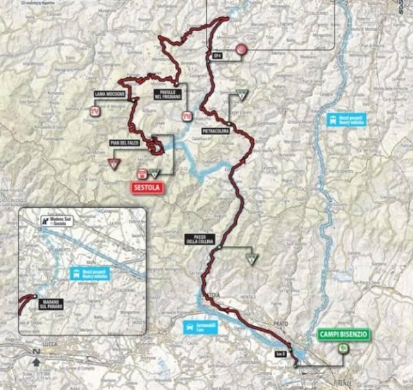 Протяженность 10-го этапа составила 219 км