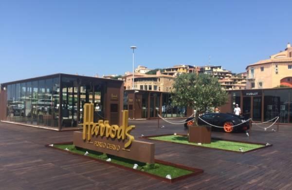 Роскошный универмаг Harrods закрывается на Сардинии
