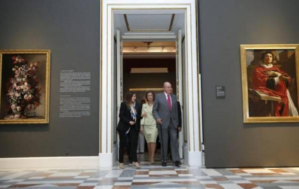 Королевский дворец Мадрида демонстрирует итальянские шедевры