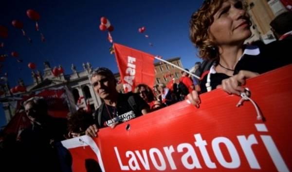 2,2 млн. итальянских семей остались без дохода