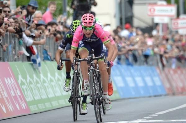 Диего Улисси одержал шестую в карьере победу на этапе Джиро д'Италия