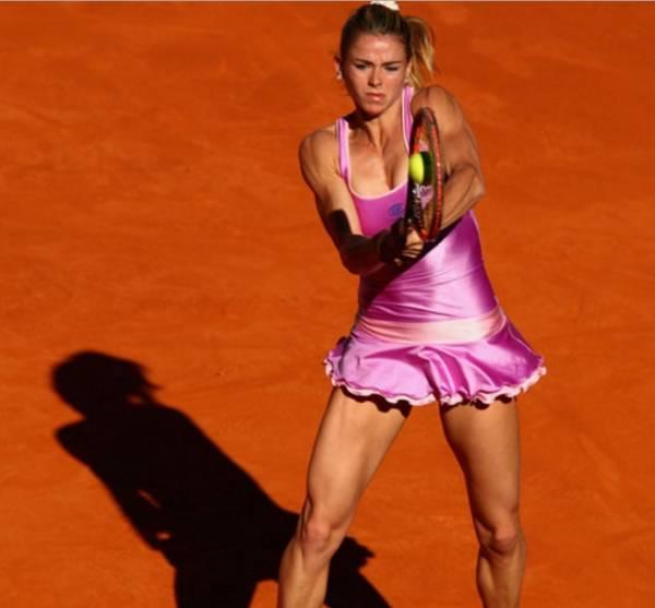 Еще одной итальянкой, выигравшей в первом круге стала Камила Джорджи