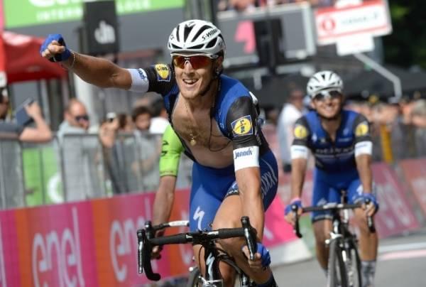 Маттео Трентин, победитель 18 этапа Джиро