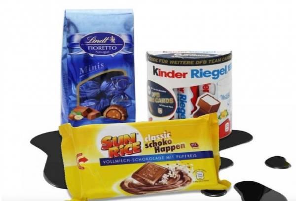 Шоколадки Kinder могут стать причиной развития рака
