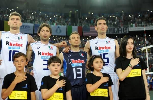 После двух туров у сборной Италии 4 победы и команда занимает 5-е мест
