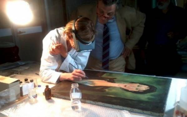 Портрет работы Модильяни можно увидеть в Италии
