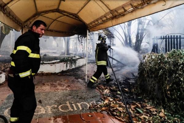 Пожары в Палермо. Жители города эвакуированы