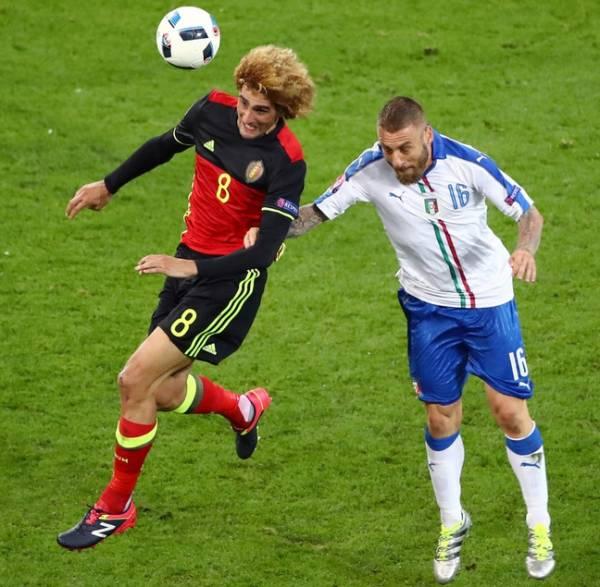 Даниэле ДЕ РОССИ, полузащитник сборной Италии