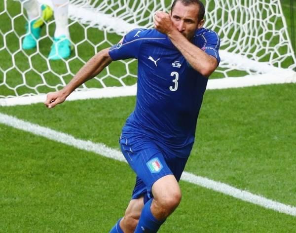центральный защитник «Ювентуса» Джорджо Кьеллини