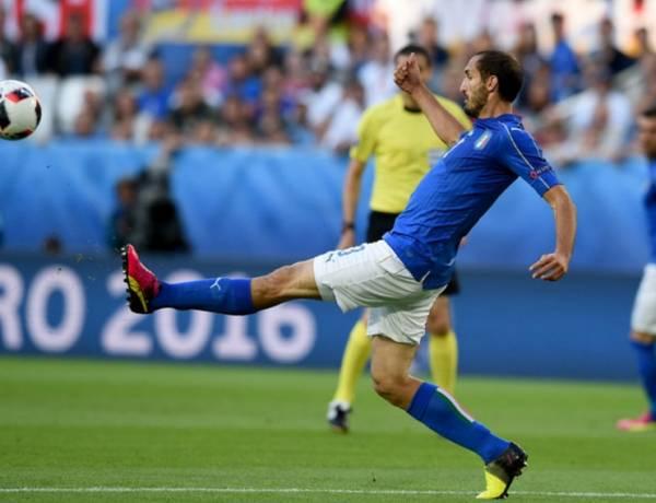 Джорджо КЬЕЛЛИНИ, защитник сборной Италии