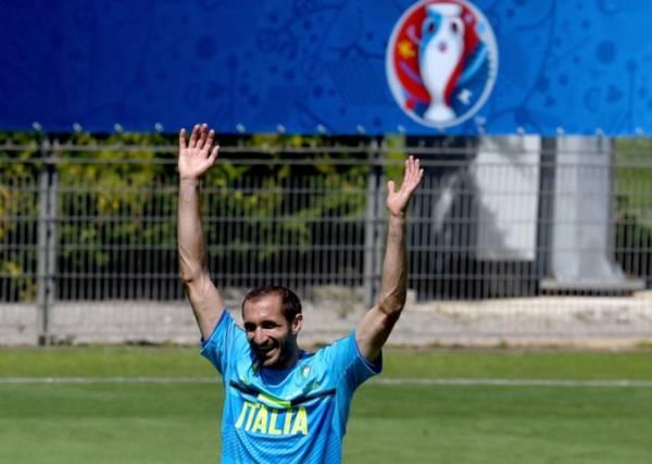 Джорджио КЬЕЛЛИНИ, защитник сборной Италии