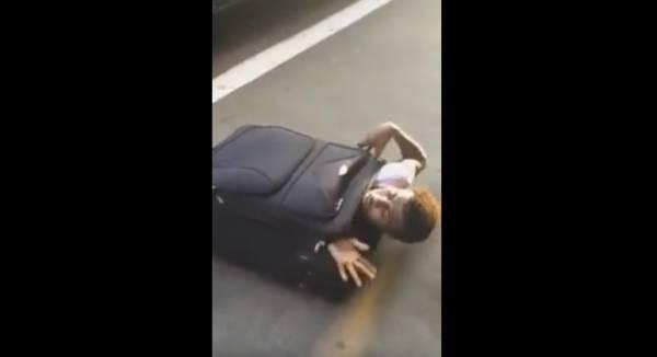 Нелегал пробовал выехать из Италии в Швейцарию, спрятавшись в чемодане